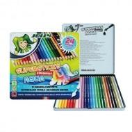 졸리 아쿠아(수채) 색연필 24색