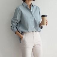 피그먼트 워싱 셔츠 (4 colors)