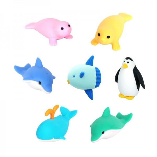 지구퍼즐지우개 바다동물 택 1