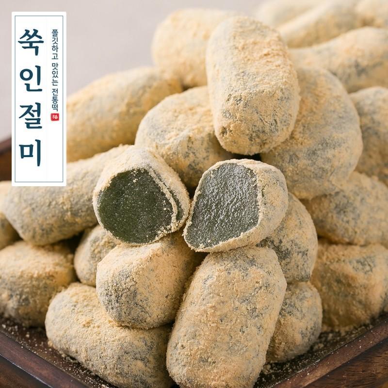 [소담떡] 고소하고 쫄깃한 쑥인절미 20g 21입
