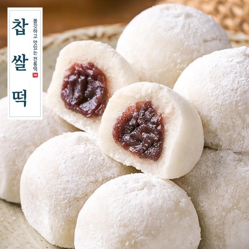 [소담떡] 국산 찹쌀로 만든 찹쌀떡 40g 16입